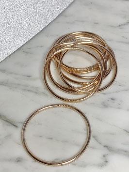 Bracelets bouddhistes fins or rose