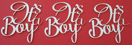 Chipboard It's a boy
