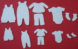 Chipboard diverse Babykleidung