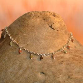 "Bracelet  ""Samadi"" Agate Beige"
