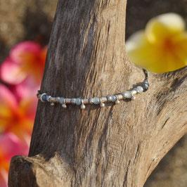 Bracelet Agate / Hématite