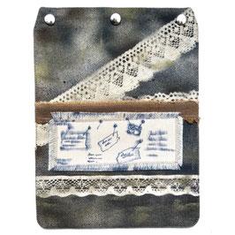 """Taschendeckel Modell """"Vintage"""" Nr. 10"""