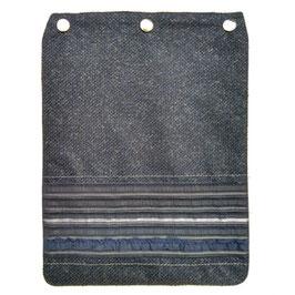 """Taschendeckel Modell """"Blaue Eleganz"""""""