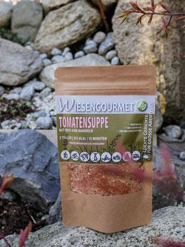 BIO | Tomatensuppe mit Reis und Mandeln