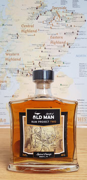 Old Man Rum - Project TWO - Spiced Orange, 40% vol.