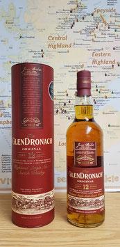 Glendronach 12 Jahre - 43% vol. 0,70l