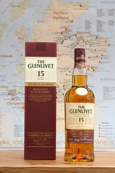 Glenlivet 15 Jahre, 40%
