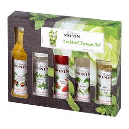 Monin Sirup Cocktail Set  vol. 5 x 50 ml Packung