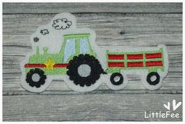 Applikation Traktor mit Anhänger