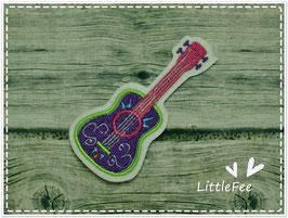 Applikation Dia delos Muertos Gitarre
