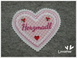 Applikation Herz Herzmadl