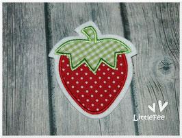 Applikation Erdbeere