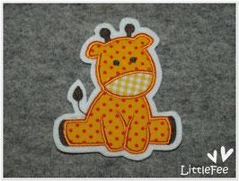 Applikation Giraffenbaby