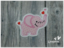 Applikation Elefant in Love