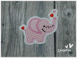 Applikation Elefant in Love