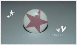 Möbelgriff Stern rosa