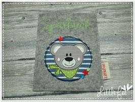 Sparbuchhülle Bär