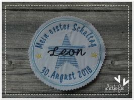 Applikation Button  Mein 1. Schultag Stern