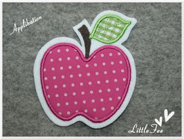 Applikation Apfel gepunktet
