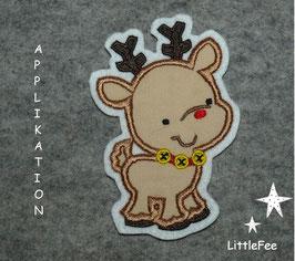 Applikation Rentier kleiner Rudolph