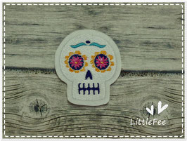 Applikation Dia delos Muertos Skull