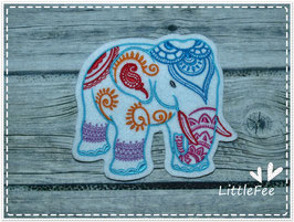 Applikation Mendhi Elefant
