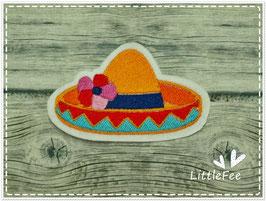 Applikation Dia delos Muertos Sombrero