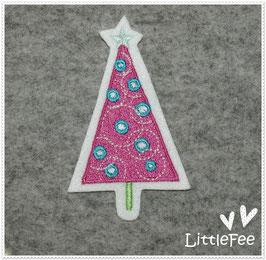Applikation Weihnachts baum Tannenbaum