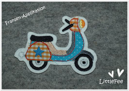 Applikation Roller Retro