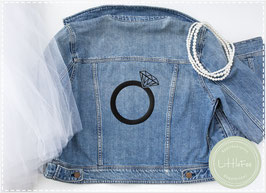 Bügelbild Plott Ring Ehering