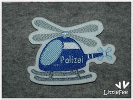 Applikation Hubschrauber Polizei