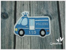 Applikation Polizei Mannschaftswagen
