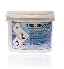 Tricloro in pastiglie da 200 gr