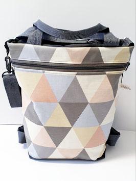 3in1 Bag Grösse L Oilskin/Wachstuch Swing Pastel