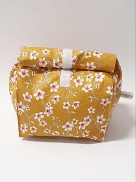 Lunch Bag gross / Utensilio Blütenast senfgelb
