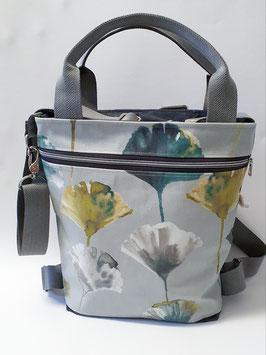 3in1 Bag Grösse M Oilskin/Wachstuch Camarillo h'grau