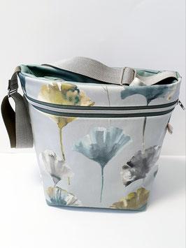 Tasche gross Kunstleder / Camarillo Chartreuse
