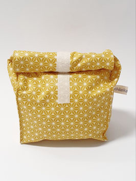 Lunchbag / Wetbag klein Sternblume senfgelb