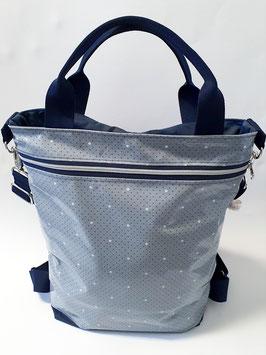 3in1 Bag Grösse L Oilskin/Wachstuch Dottie Dot