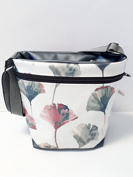 Tasche gross Kunstleder / Camrillo Flamingo
