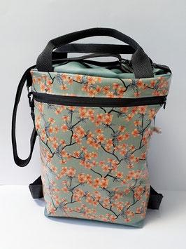 3in1 Bag Grösse L Kunstleder kombiniert mit Wachstuch