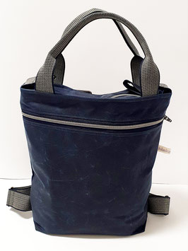 3in1 Bag Grösse M Oilskin navy