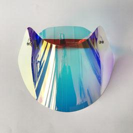 Modell_5, Sonnen Visier mit holographic Folie