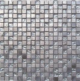 Mosaico Foglia Argento