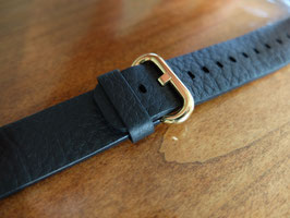 23 Karat gold plating of your Apple Watch Leather Band stainless steel details - Classic or Hermes