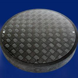 Kunststoff-Schachtabdeckung FibreEco 600 inkl. Rahmen