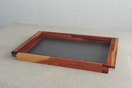 Holztablett aus Zwetschge, Serviertablett, Tablett