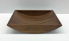 Schale, Brotschale, Holzschale aus Nussbaum