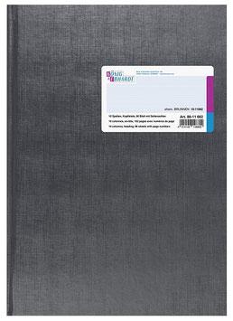 Spaltenbuch 16 Spalten mit Kopfleiste Schema über 2 Seiten A4 Deckenband-Einband - K&E von Baier & Schneider