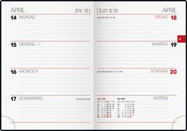 Brunnen Taschenkalender 2021 10x14cm - Modell 731